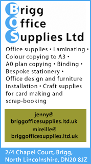 Advertisement: Brigg Office Supplies
